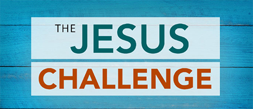 Title graphic for Wednesday Night Bible study series: The Jesus Challenge, Dr. Tony Evans